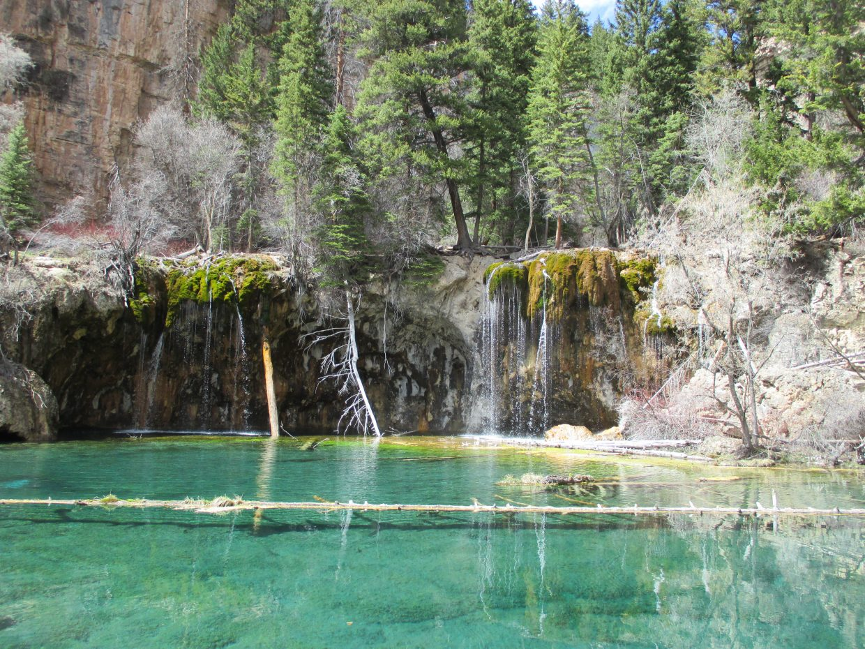 """Colorful Hanging Lake."" Submitted by Shelly McGhan."
