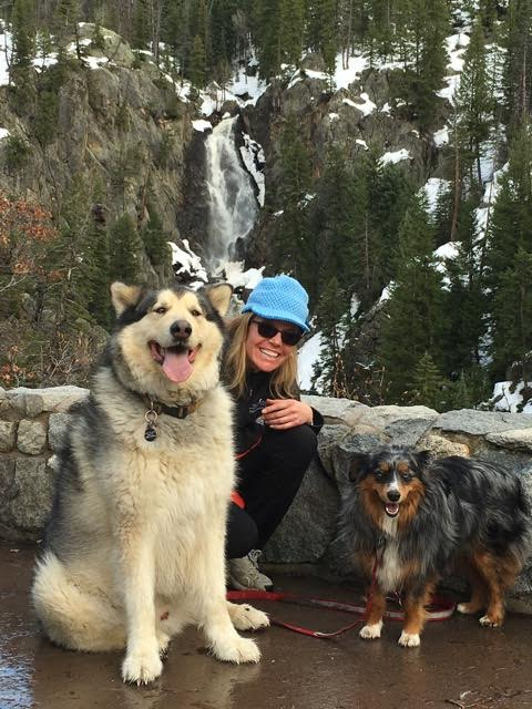 Sunday afternoon Fish creek Falls Hike. Max, Jessica,and Little Daisy. Submitted by Anna Boyer.