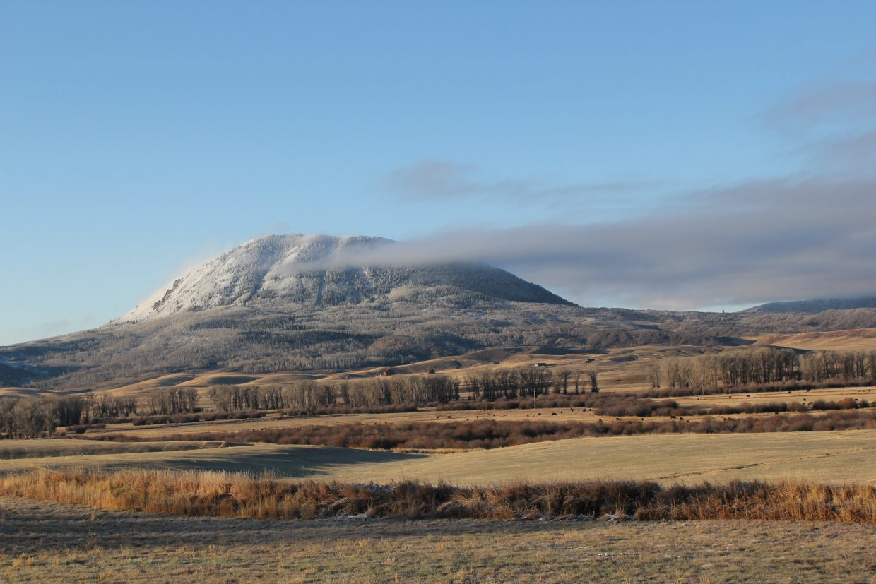 Sleeping Giant in November. Submitted by: Diane Miller.