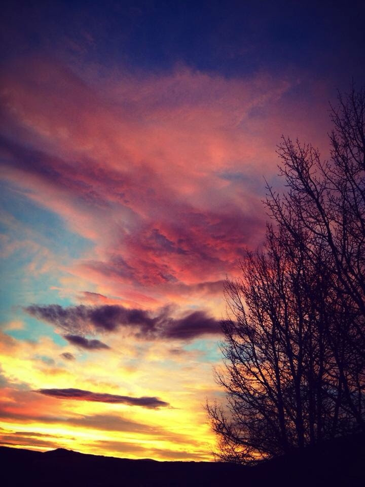 All Saints Day sunrise Saturday. Submitted by: Mary Davies.