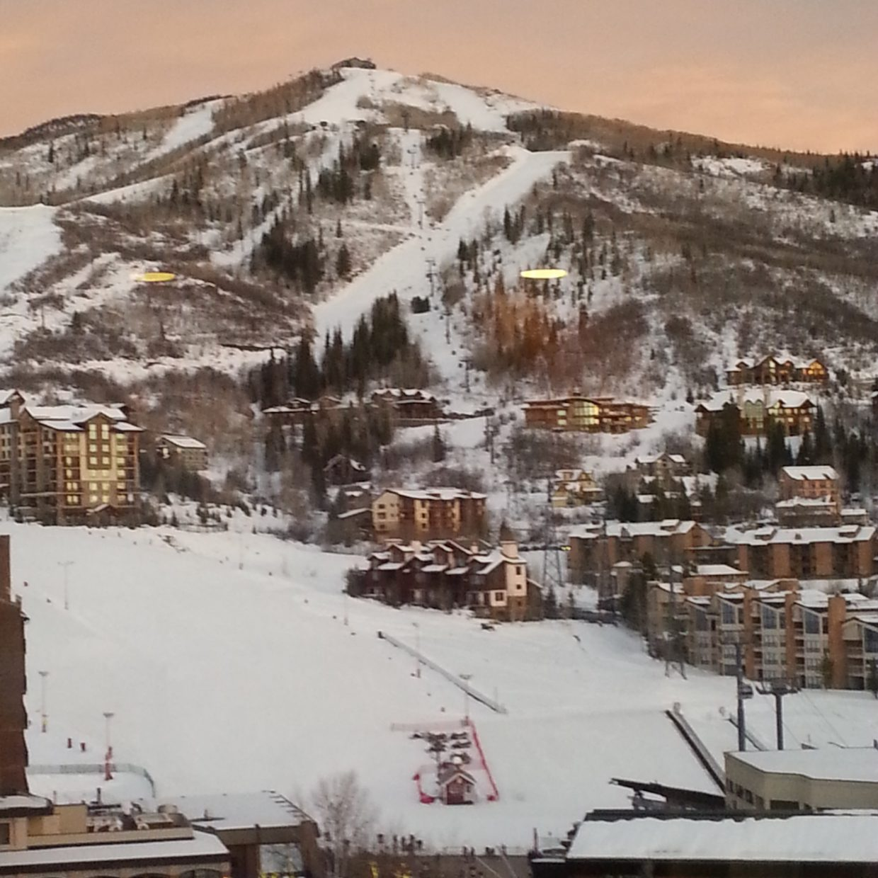 View of Thunderhead Steamboat Springs Resort. Submitted by: Diana Lopes.