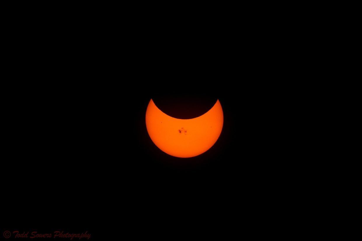 The eclipse. Submitted by: Todd Sowers.