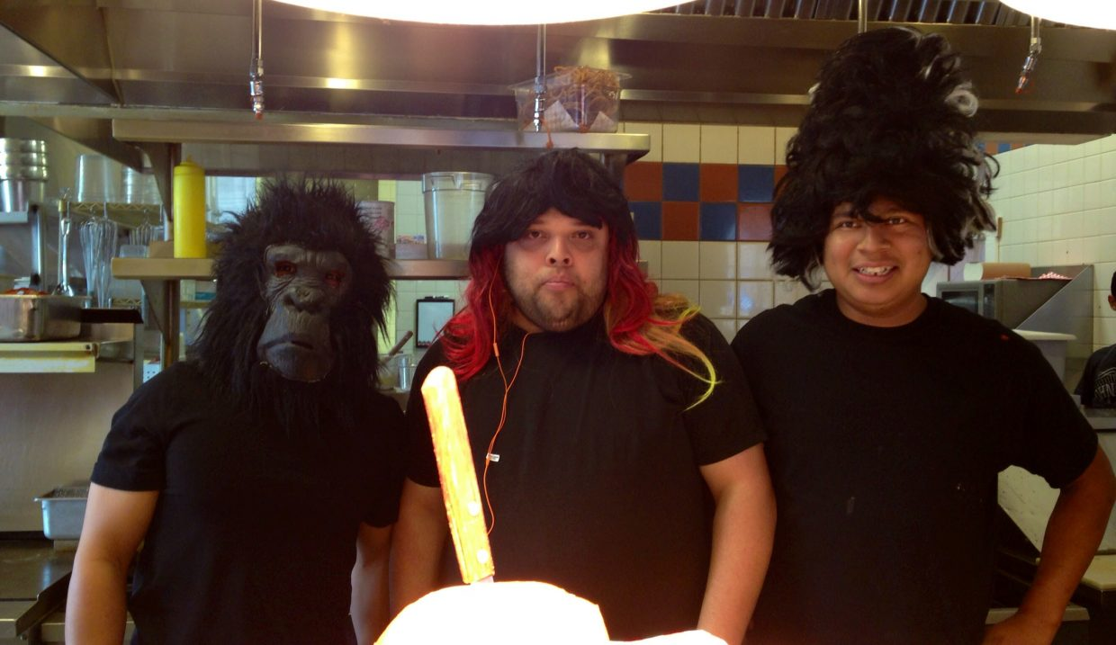 Halloween fun with the Big House Gang. Submitted by: Mary Davies.