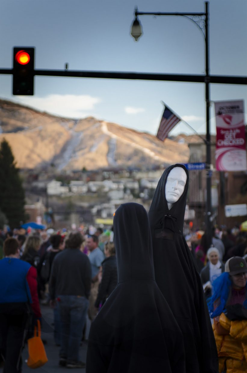 Halloween Stroll in Steamboat. Submitted by: Steve Fortna.