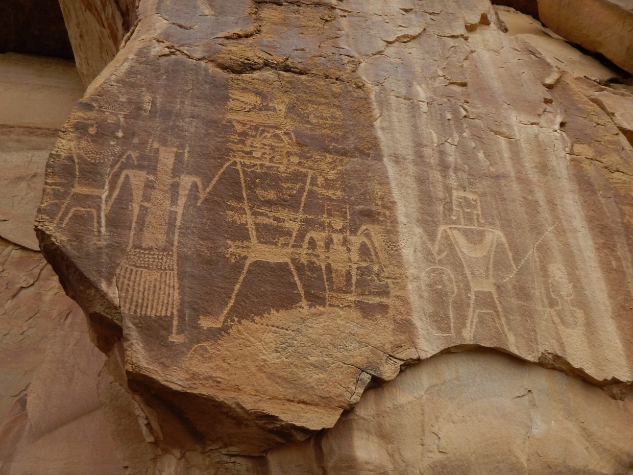 Conkie Ranch Petroglyphs in Vernal, Utah. Submitted by Colleen Whiteman.