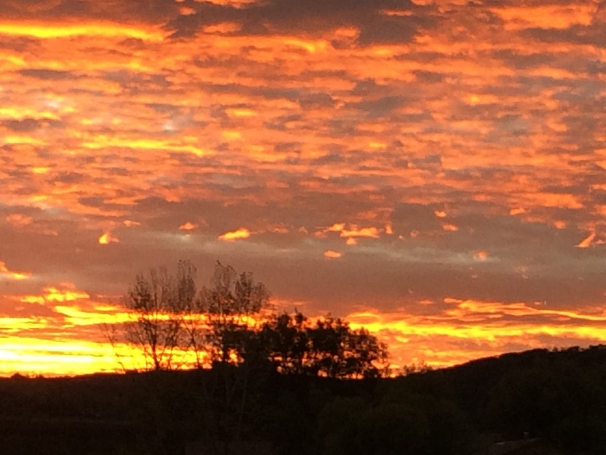 Steamboat Fall Sky. Submitted by Lorie Brown.