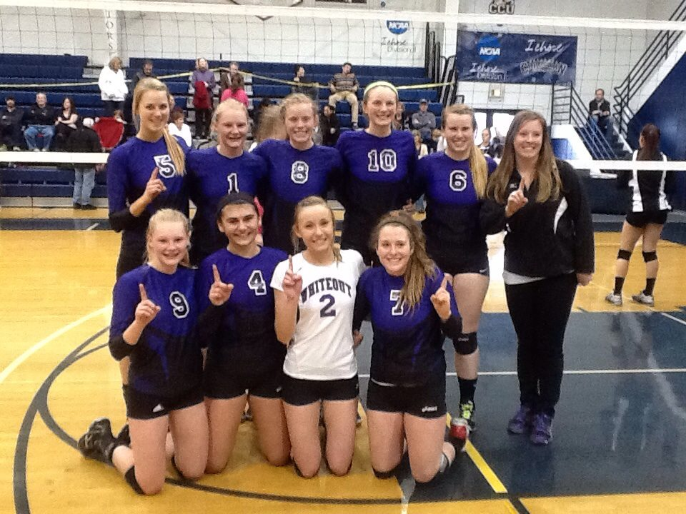 The Whiteout Volleyball Club's 17's team won the Power 2 Tournament held Sunday at Colorado Christian University in Lakewood. The undefeated squad, coached by Shelby Jennings and Clint Koehler, enjoys a 8-0 record. Pictured in the front row, from left, are Abigail Wiedel, Maddie Labor, Madi Owen and Amber Finch. Second row: Taylor Harrington, Maritza Wiedel, Riley Wilkinson, Annie Osbourn, Belle Horn and coach Jennings.