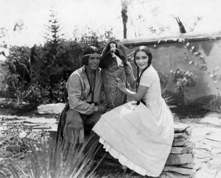 """Actors Dolores Del Rio and Warner Baxter in the 1928 version of the silent film, """"Ramona."""" This film will soon be shown at the Bud Werner Memorial Library for the One Book Steamboat program that features the classic novel by Helen Hunt Jackson, """"Ramona."""""""