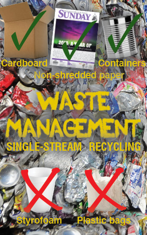Single-steam recycling is convenient for customers, but requires employees to sort out non-recyclable materials, costing waste management companies time and money. Routt County consumers can help lessen these costs by keeping these recycling do's and do not's in mind.