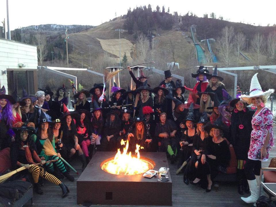 Annual witches night at the cauldron. Submitted by: Sue Hansen.