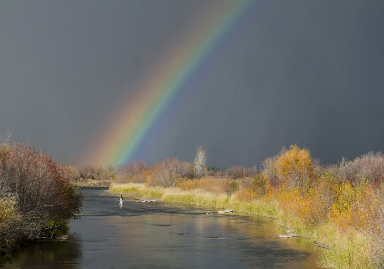 Yampa Valley end of the rainbow. Submitted by: Steve Fortna