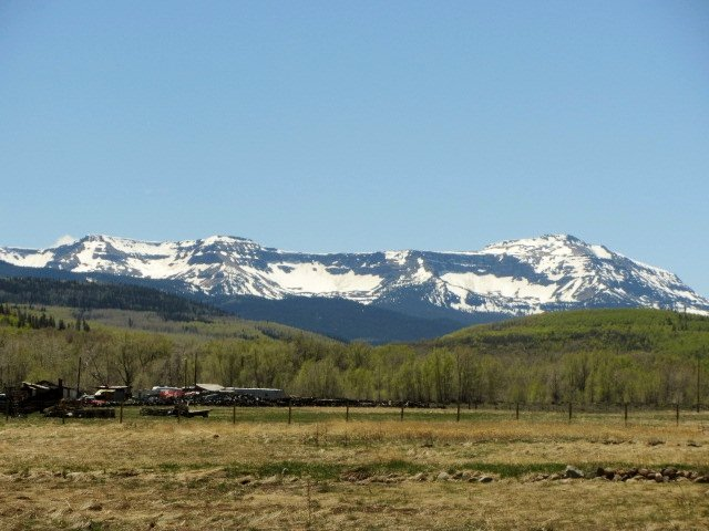 Spring slowly making its way up the Flat Tops. Submitted by: Verleen Tucker