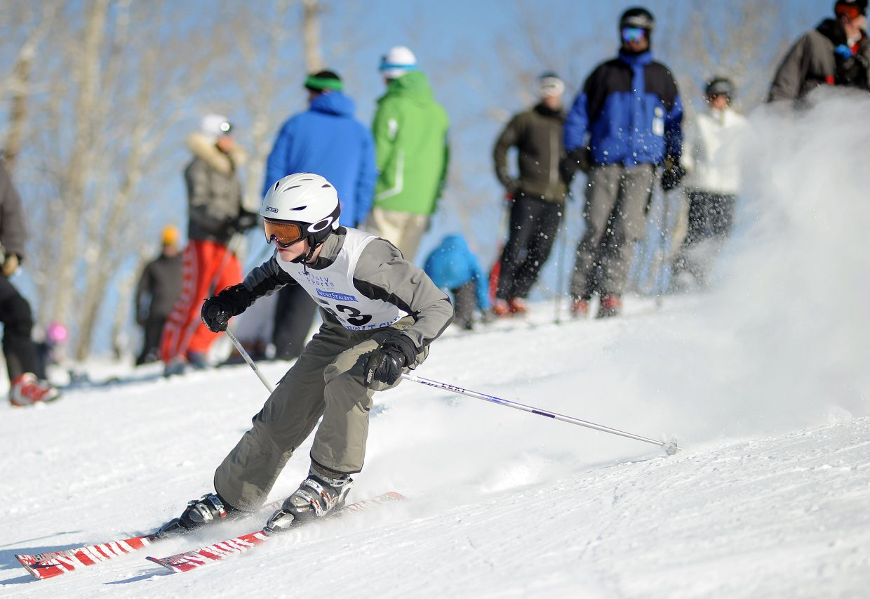 Jake Crouch races Sunday in a Steamboat Cup event in Steamboat Springs.