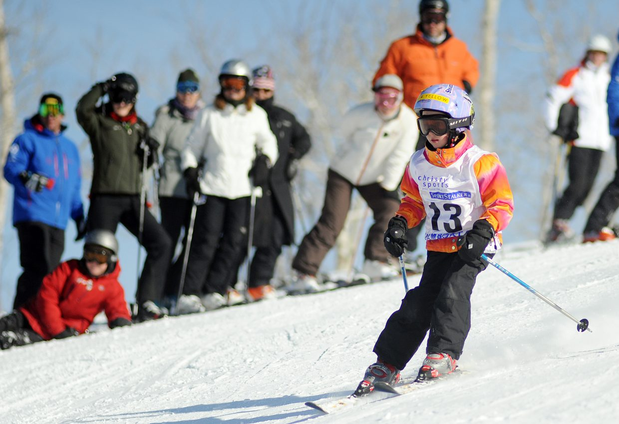 Eliza Fox races Sunday in a Steamboat Cup event in Steamboat Springs.