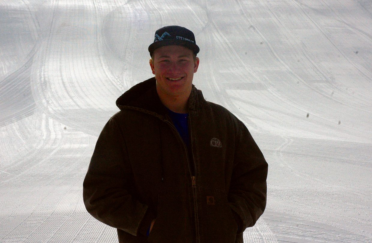 Brant Crossan is preparing to compete on the World Cup circuit for ski cross. The 2010 Lowell Whiteman School graduate is on the U.S. Ski Cross development team.