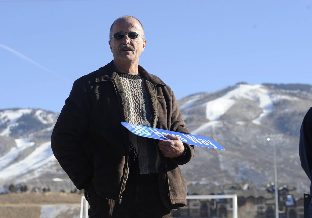 JD Hays joined the Steamboat Springs Police Department in 1980.