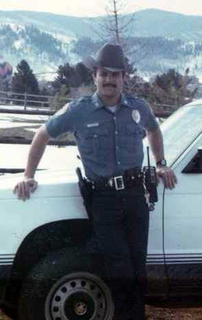 Steamboat Springs Police Department officers used to wear Wrangler jeans and were issued cowboy hats as part of their uniform.