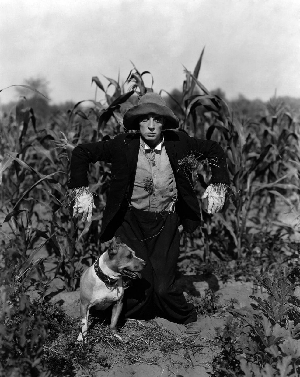"Silent film actor Buster Keaton stars in ""The Scarecrow"" in the 1920s. The film will be feature as one of four silent comedies at Thursday's debut of the Silent Nights at the Library film series."