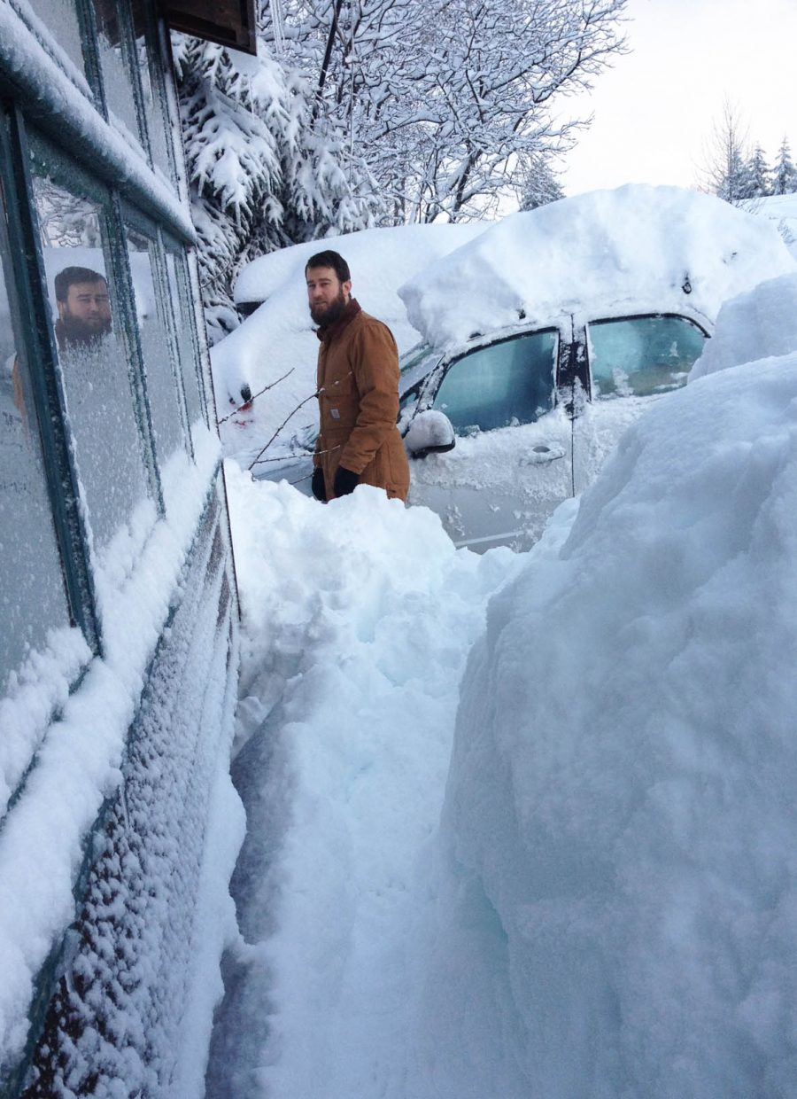 The residents of the fishing village of Cordova, Alaska, are coping with more snow this winter than they are accustomed to. Heavy winter rains are more typical in Cordova than relentless powder dumps.
