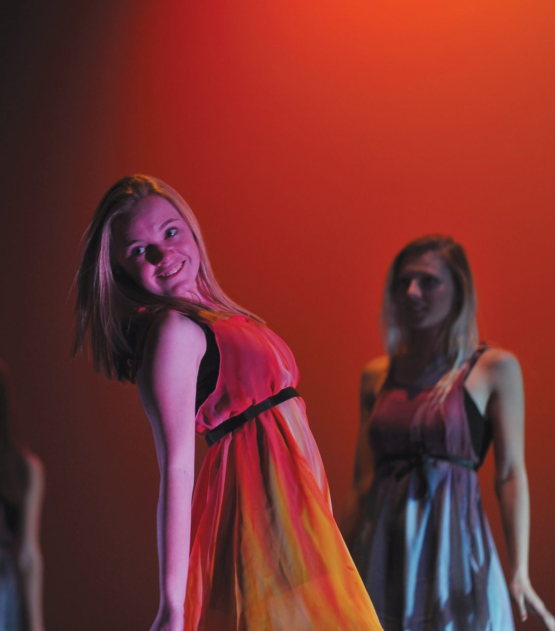 Steamboat Springs High School freshman Jessie Selby performs during a dress rehearsal for this year's Dance Showcase, which will take place in the Steamboat Springs High School auditorium at 7 p.m. Thursday, Friday and Saturday.