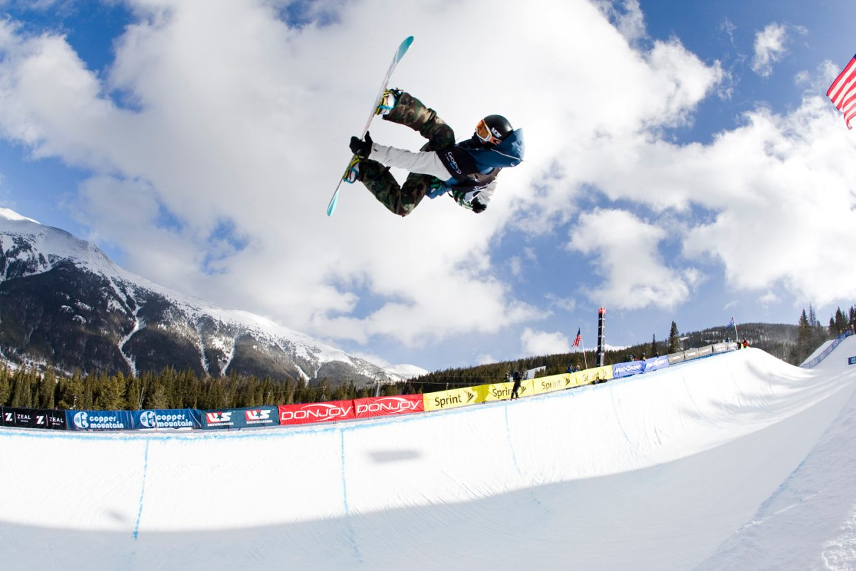Steamboat Springs snowboarder Matt Ladley flies out of the half-pipe at the 2011 Sprint U.S. Snowboarding Grand Prix half-pipe snowboarding qualifiers in Copper Mountain. Ladley and fellow Steamboat snowboarder Maddy Schaffrick will compete in this weekend's X Games in Aspen. Schaffrick competes at 9 p.m. Friday while Ladley's finals are at 7:45 p.m. Sunday.