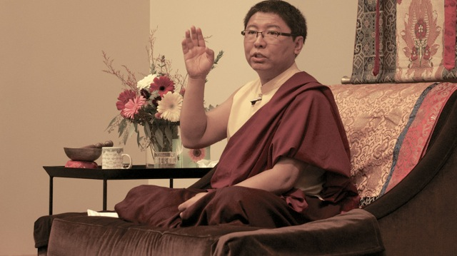 Friday's library presentation by H.E. Tsoknyi Rinpoche. Submitted by: Joseph Cosby