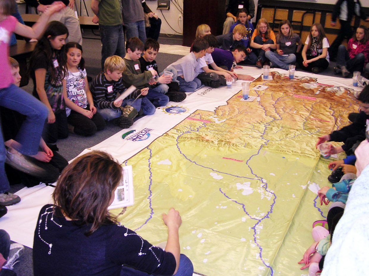 Students from across Northwest Colorado participate in a Science Explorers workshop Friday in Steamboat Springs hosted by the University of Colorado Boulder's Science Discovery outreach program.