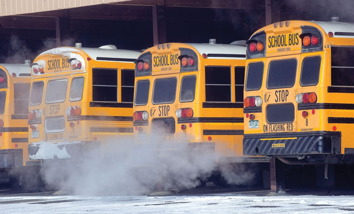 Extremely low temperatures prompted officials to close all Steamboat Springs schools Wednesday. Hayden, South Routt and The Lowell Whiteman School had classes.
