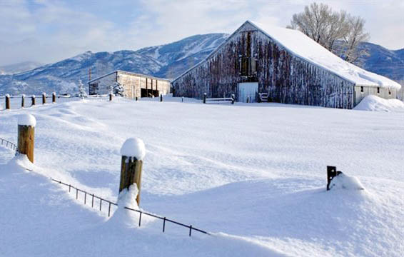 The Bartholomew Ranch offers the charm of rural living with ski area views just two miles from Steamboat Springs.