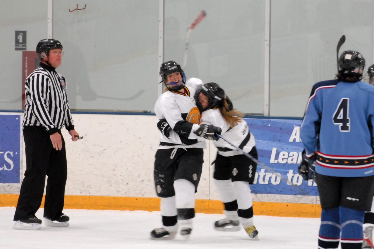 Laura Kalmes, of Chix With Stix, scored a clutch goal against the Denver Synergy on Friday night with nine seconds remaining in the game to win, 1-0.
