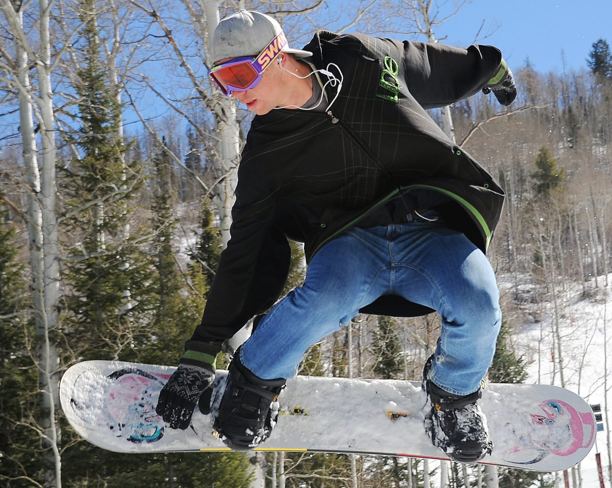 """Warm spring weather can bring about """"hero"""" conditions: the soft, slushy snow that can make regular look like pros and inspire others to try new things in the terrain park or on moguls runs."""