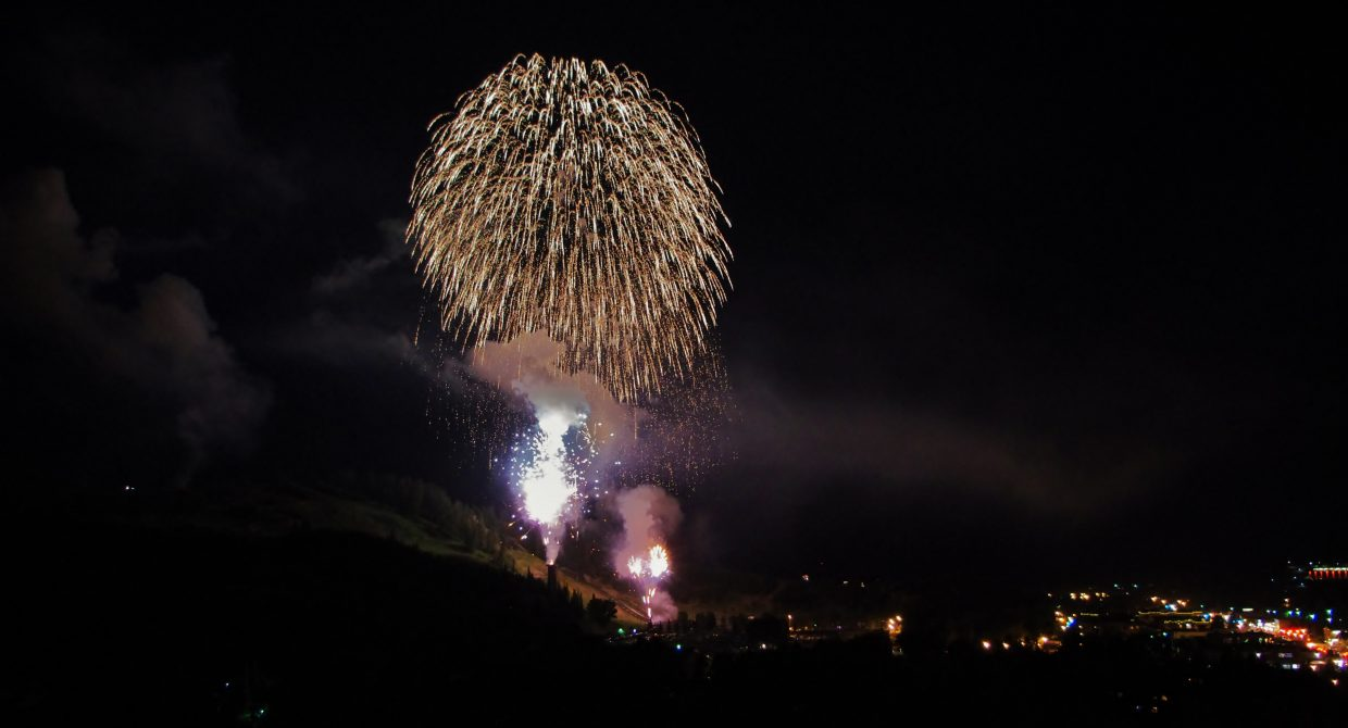 Fourth of July fireworks. Submitted by: Matt Helm