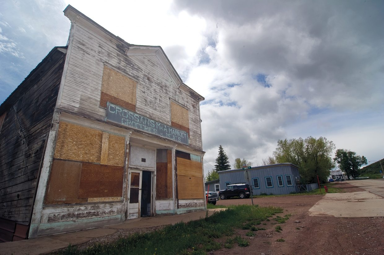 Despite the efforts of Friends of Crossan's — a group of Yampa locals who are working on restoring the Crossan's M&A Market building, which was built in 1903 — the site was placed on Colorado's Endangered Places list by Colorado Preservation. A documentary about the historic market will air at 6:30 p.m. Wednesday on CBS Denver Channel 4.