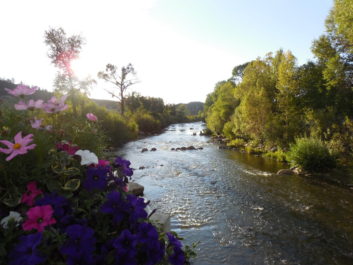 The Yampa river downtown Steamboat. Submitted by: Bruce Carlock