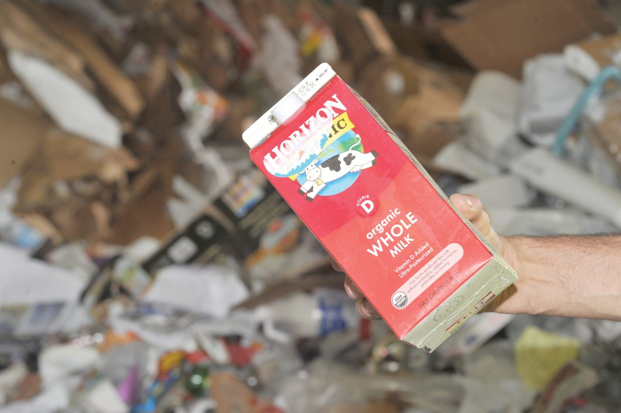 Waste Management in Steamboat Springs now is accepting paper containers commonly used for milk, juice and ice cream.