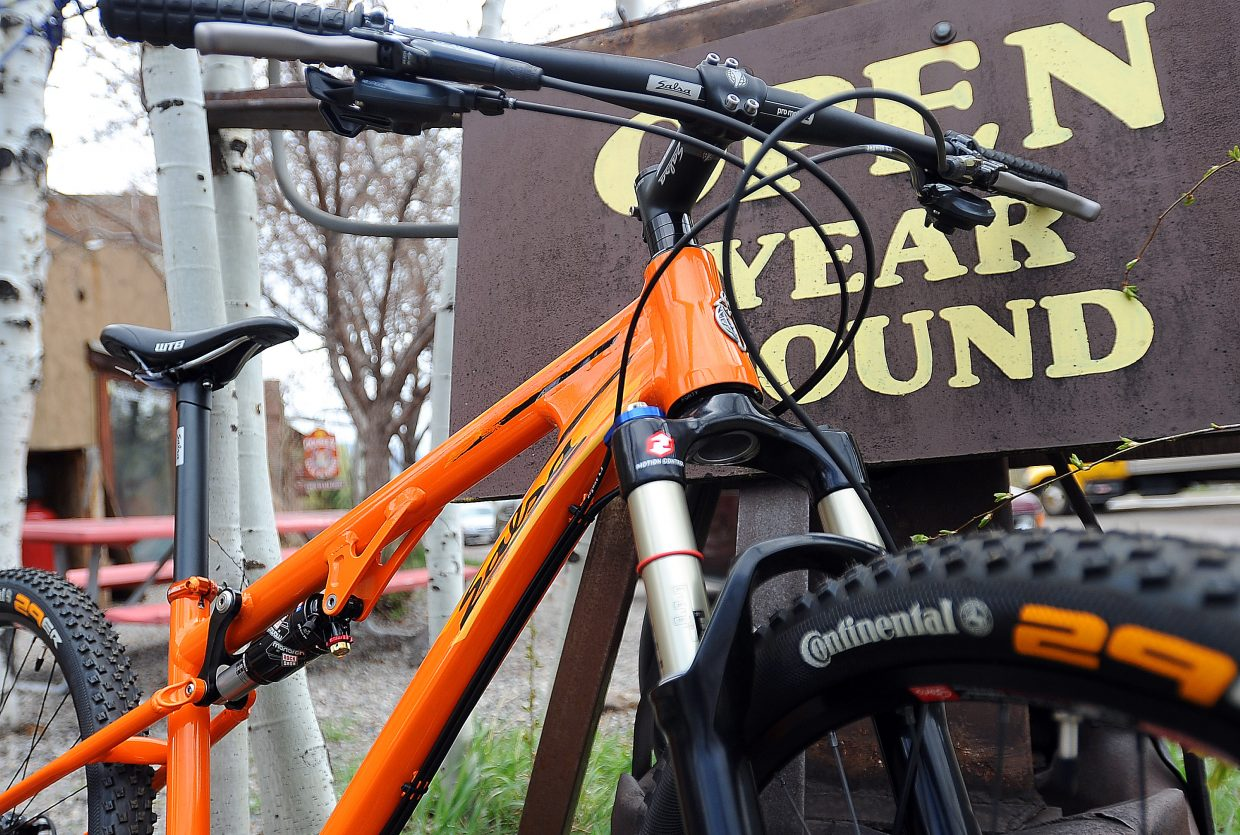 The crew at Orange Peel said the Salsa Spearfish II mountain bike combines some of the best innovations to come out in the past few years. It is available for $2,649.