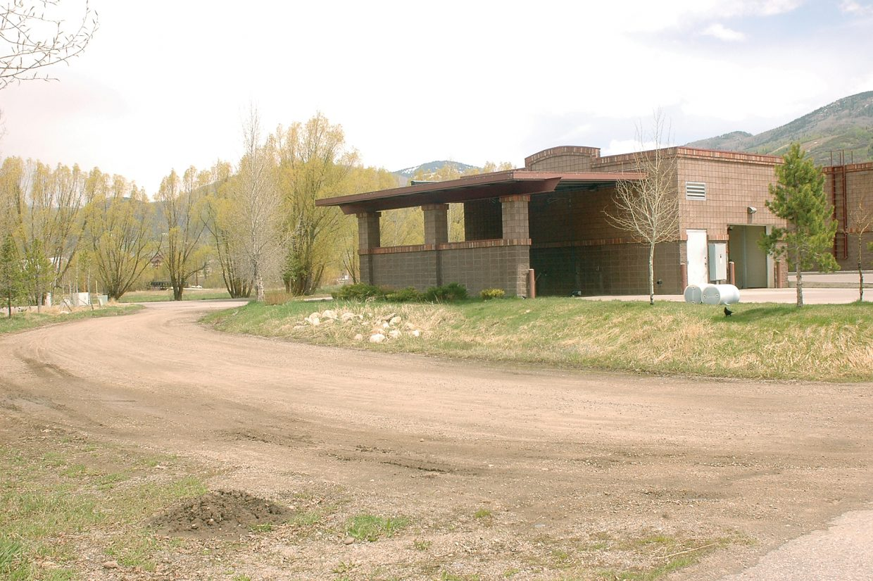 This site near the intersection of U.S. Highway 40 and Weiss Drive on Steamboat Springs' south side is being eyed for a multistory apartment building.