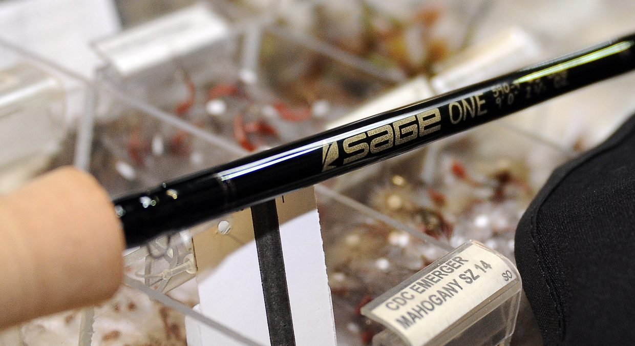 The Sage One fly rod is available at Straightline Sports in downtown Steamboat Springs.
