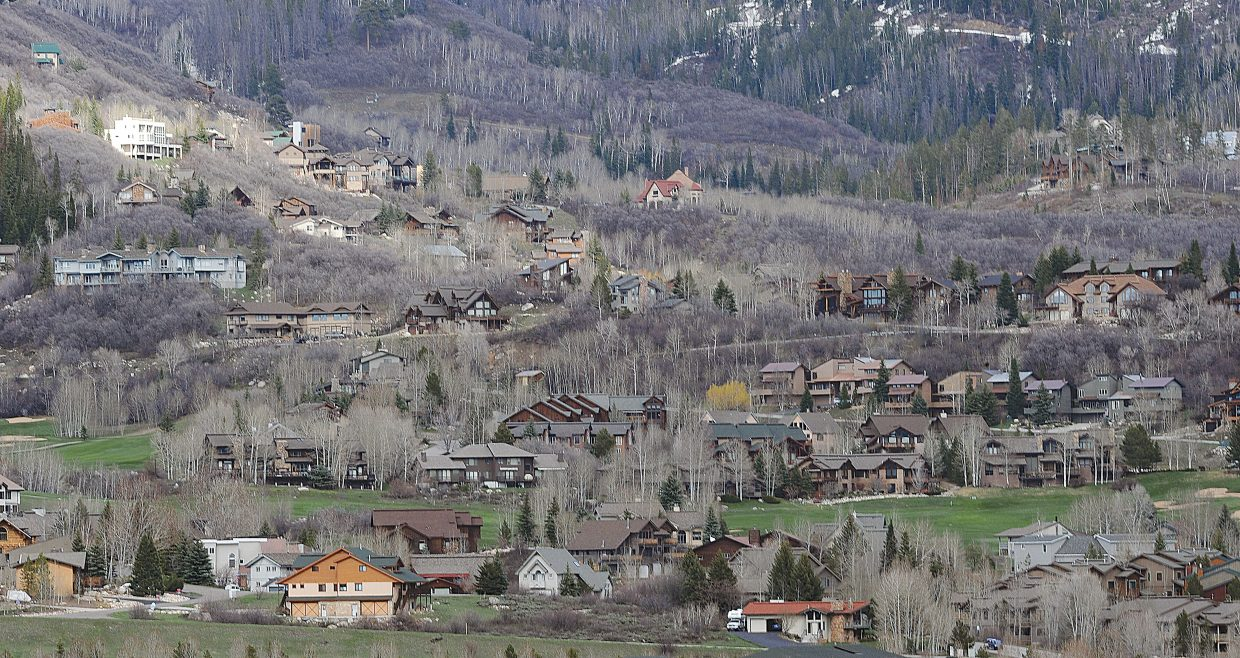 The value of property in Routt County for tax purposes is down a little more than 11 percent this year.