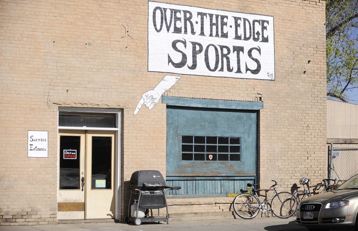 Troy Rarick took a gamble and opened the Over the Edge Sports bike shop in his hometown in spring 1995.