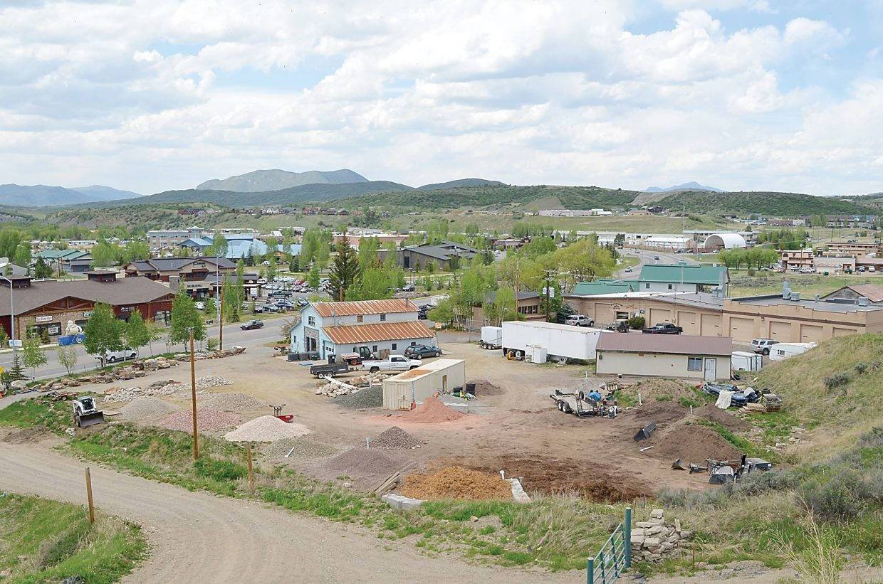 Much of the remaining room to create new light industrial businesses is concentrated on the west side of Steamboat Springs.