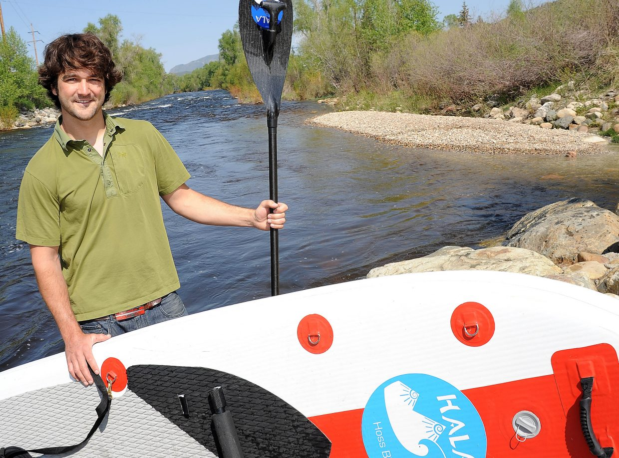 Peter Hall founded Hala Gear last year after quitting his full-time job in advertising. A life-long tinkerer, he invented a new paddle for the sport of stand-up paddleboarding and also is preparing to sell an inflatable board.