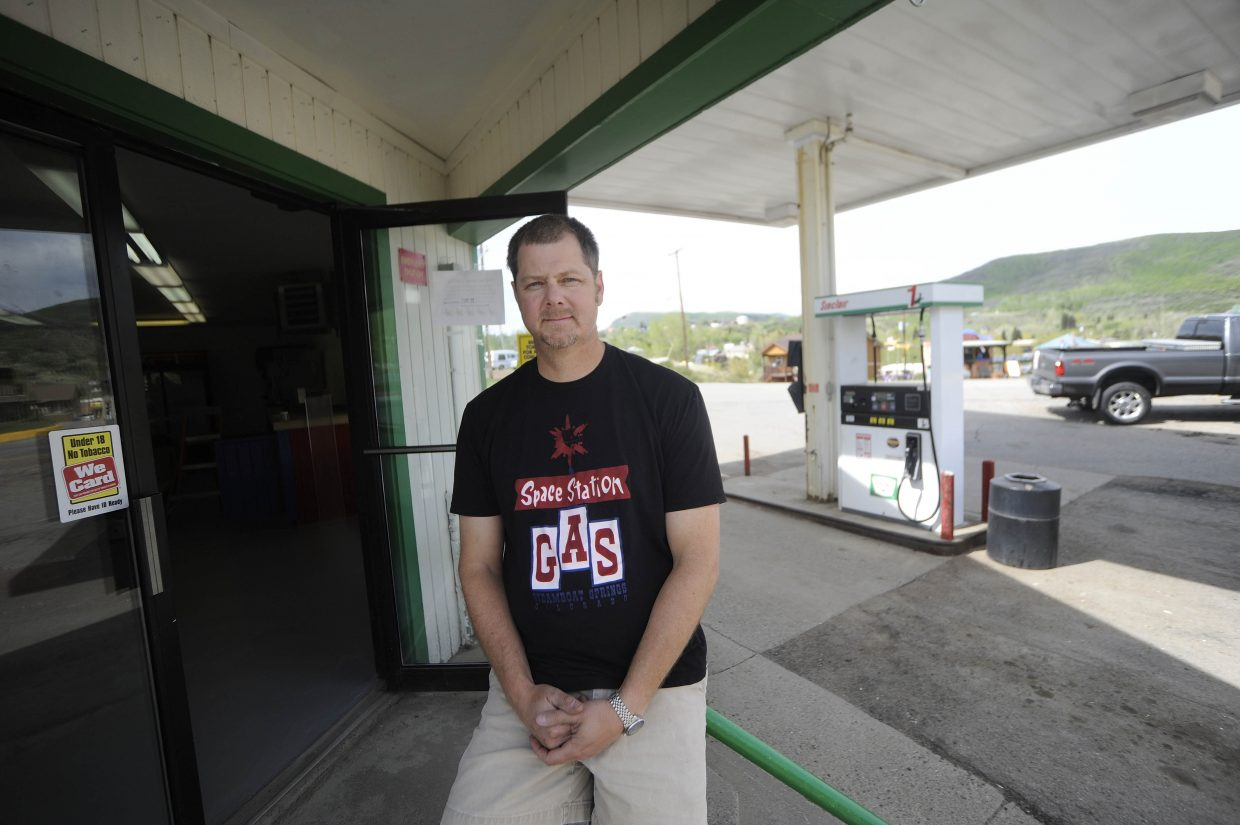 Eric Dorris is expanding out of Steamboat and is opening a Space Station gas station and convenience store in Oak Creek.