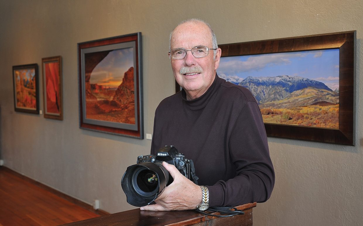 Photographer Rod Hanna's work will be featured at the Steamboat Art Museum this summer. The show features work ranging from his days as an award-winning newspaper photographer to his latest images of some of America's most scenic landscapes.