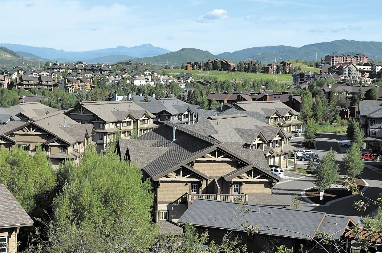 The Sunray Meadows condominiums, where two-bedroom units with fireplaces are priced below $300,000, have matured into a neighborhood that includes many full-time residents.