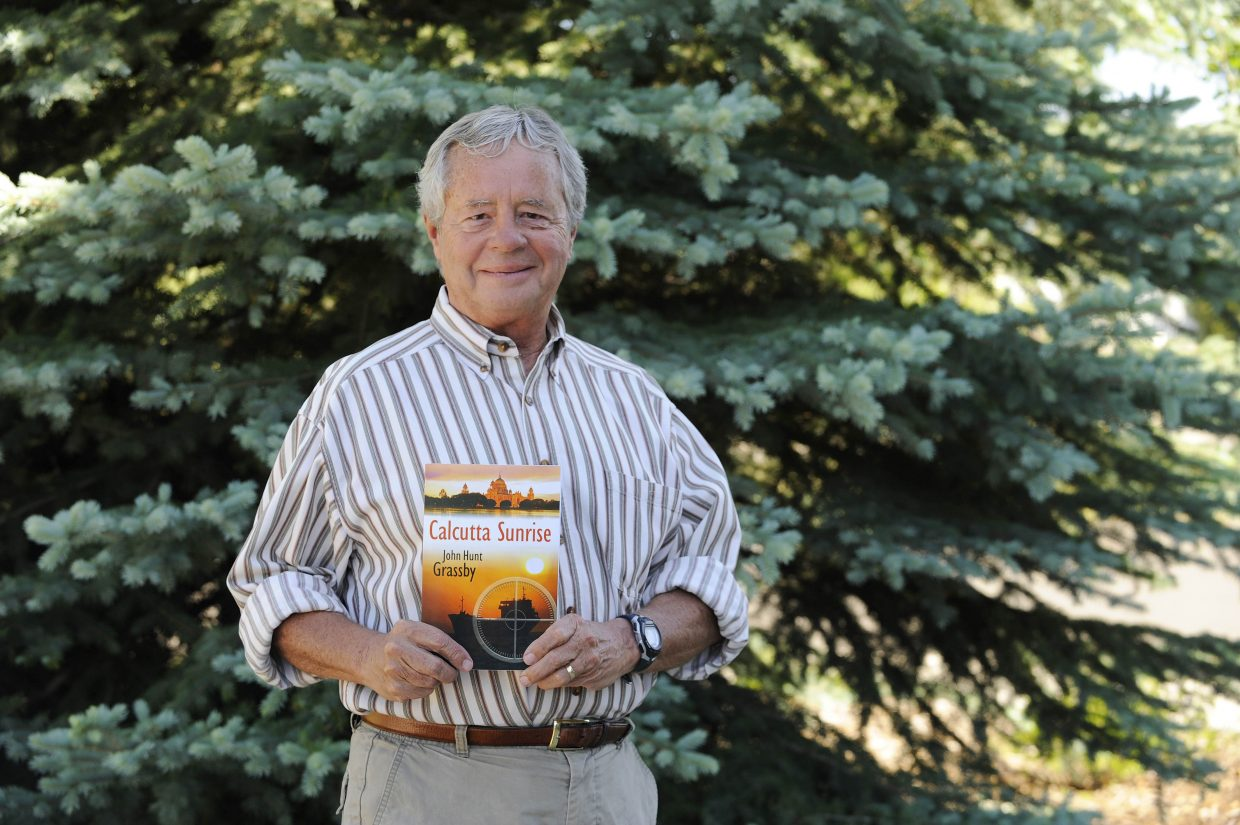 """John Grassby, a lawyer in Steamboat Springs, recently published his first novel, """"Calcutta Sunrise."""" He will be hosting a reading and book signing at 6 p.m. Thursday at Off the Beaten Path Bookstore."""