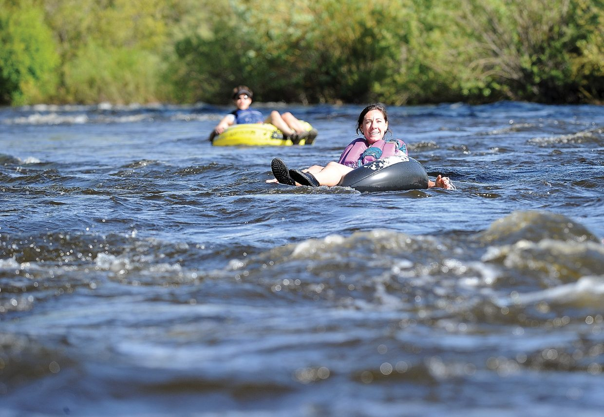 On Friday the City of Steamboat Springs reopened the Yampa River to tubing and fishing.