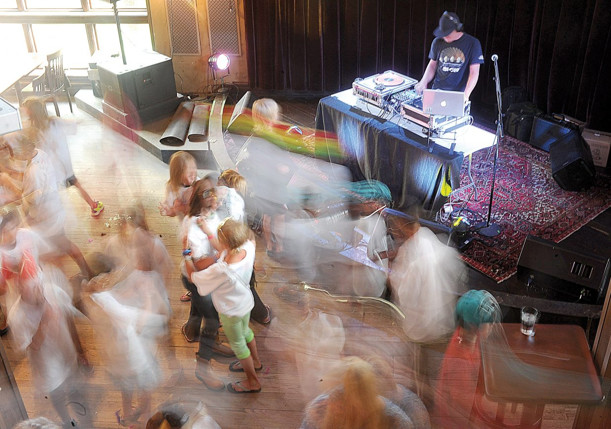 Fifth-graders enjoy a private party at the Ghost Ranch earlier this week. The popular downtown Steamboat Springs nightclub and bar will reopen this weekend.