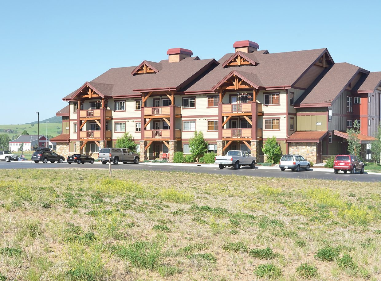 The development site forthe second phase of First Tracks has already been approved for two buildings by the city of Steamboat Springs.