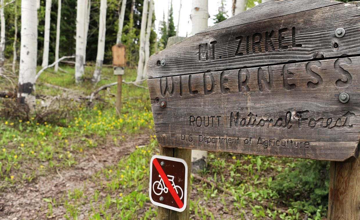 More than six miles of mostly uphill slogging delivers hikers to Mount Zirkel Wilderness Area. Keep going another 1/2 mile to add some fantastic high-mountain views to the day's accomplishments.